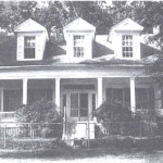 Samuel Guy House at its original location in Mansfield, LA.